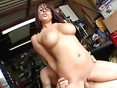 Sexy Teen Makes Her Ass Clap While Riding A Big Cock