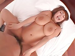 Riu Akikawa - Big tits and anal beads