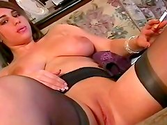 Busty beauty loves to play nasty