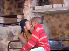 Amateur Nasty African Couple
