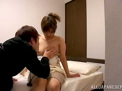Homemade Japanese Porn Vid with Cock Sucker Babe Fucked Hard