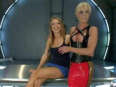 Anal Fucking for Rain DeGrey by Blond Shemale Joanna Jet