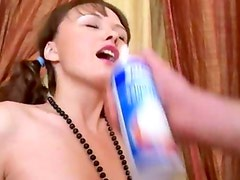 Creamed and copulated in her asshole