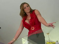 Eva Notty gets fucked between her big tits and in pussy