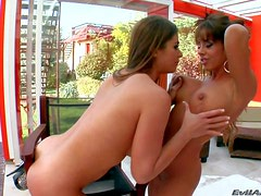 Cathy Heaven and her lusty girl friends enjoy in taking