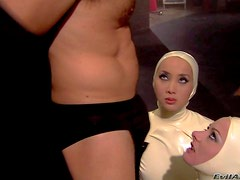 Katsuni and her friend Belladonna enjoy in being a part