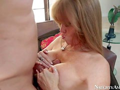 Gorgeous and hot busty milf Darla Crane enjoys in pleasing