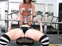 Blonde Malena Morgan is on the