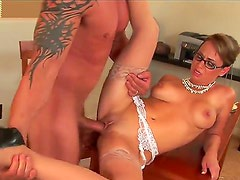 Holly West has dick-hungry beaver and