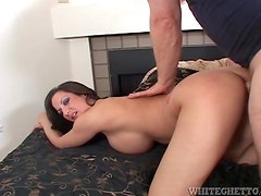 Curvy mom doggystyle and cock riding sex