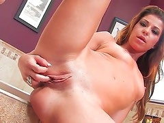 Mia Gold with tiny tities and trimmed