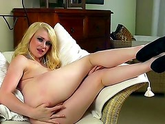 What a cool and naughty blonde babe Tegan Jane is. Today she is going to stay