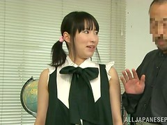 Piano Teachers In Japan Recommend Their Slutty Students To Blow Their Whistle!