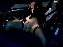 Cum on her whilst Dogging in Uk
