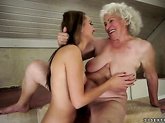 Brunette hooker Norma with juicy jugs is on the