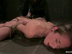 Water Torture for Jade Marxxx in Kinky Bondage BDSM Video
