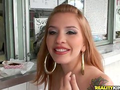 Nicole Marie Beautiful Blond-Haired Latina Enjoys Hardcore Sex