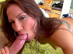 Horney Inari is fucked hard in her tight pussy