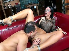 Sexy simone style gets her wet pussy sucked by her