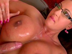Curvy mommy is fucking furiously in a doggy position