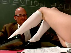 Chad Rock and Christian Wilde have fun with a kinky blonde