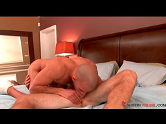 Fucking the mouth and licking the ass of his lover