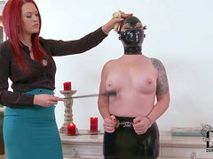 Angel Deelight is a masked slave girl that gets her