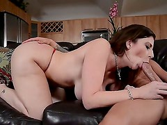 Hardcore Milf action. Staring  Sara Jay and Tyler Page. She is one hot momma with a fantastic body with big bouncy tits.