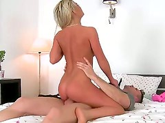 Horney babe afrodity loves some huge cock and
