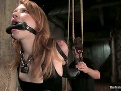 Redhead Beauty Madison Young Sex Slave Fucked in BDSM Vid