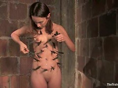 Amber Rayne Gets Clothespin and Rope Torture Before Getting Fucked