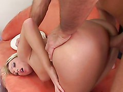 Sexy blonde mom fucks one of her son's teammates