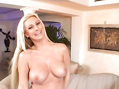 Busty blonde with great ass gets fucked!