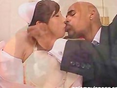 Big Tits Japanese Nurse Blowjob Interracial Huge Black Cock