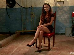 Lorelei Lee and Melissa Jacobs play electric BDSM games in a cellar