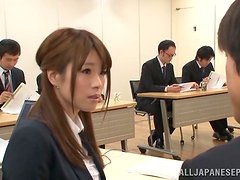 Japanese Beauty Showing Her Body and Sex Skills in Presentation