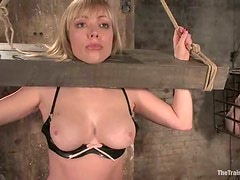 Adrianna Nicole and Madison Young get stunningly fucked in BDSM vid
