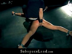Slave kiara Lord is trained for submission