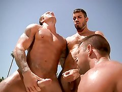 Bo Dean, Damien Stone and Kyle King