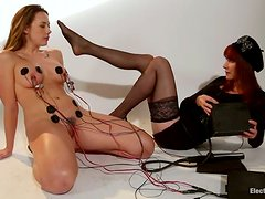 Chanel Preston Gets Strapon Fuck and Electrical Torture in Lesbian Femdom