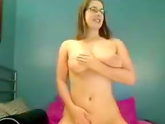 Pretty busty librarian shows her ass