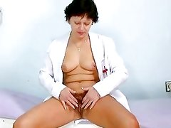 Sexy Milf In Nurse Uniform Stret...