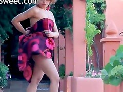 Exotic princess stripping and dancing