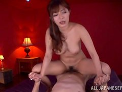 Big Busted Japanese Chick Gets Fucked Right And Left!