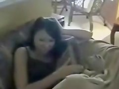 Boyfriend teases girlfriend in blowjob and facial