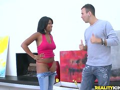 Monique Symone blows and gets fucked in all known positions