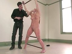 Honey enjoys some fucking machine and then a real cock
