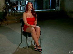 Spanking and Toying with Torture Included for Kelly Divine in Lez BDSM