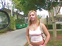 Monster cock sex in the bang bus for a slutty blonde teen
