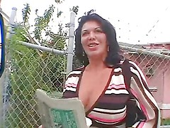 Hot Latina shows off her amazing ass before being fucked